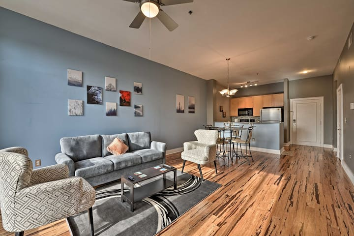 NEW! Modern Condo Steps from Charlotte Rail Trail!