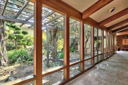 Frank Lloyd Wright Style Oasis #4 - Oxnard