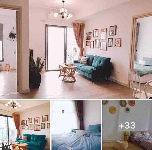 Maayhouse-2.5 bedrooms Clean Cozy Nice in Ecopark