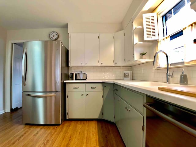 Origional kitchen has been rehabbed and upgraded.