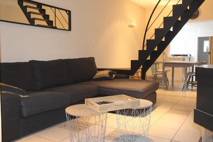 Petite maison confortable au centre de Nivelles