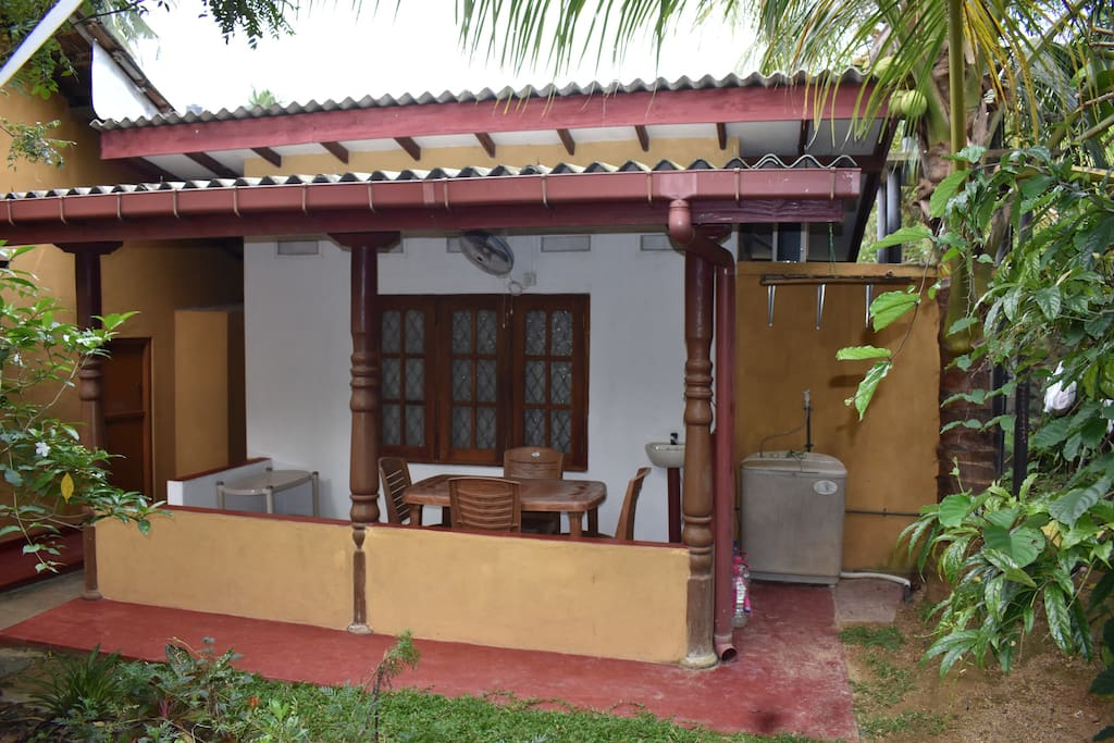 The apartment with separate entrance.Shirley's homestay.