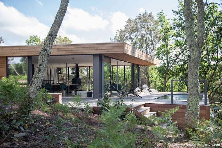 ★★★★ Villa La Forêt Hossegor🌿 Heated pool ❤