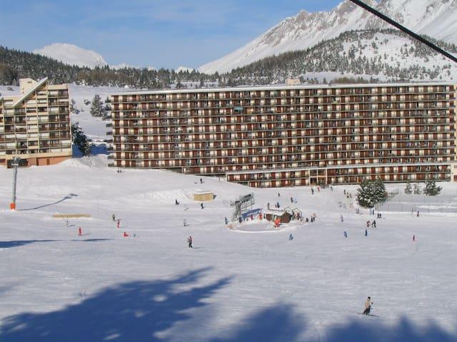 Appart ensoleillé front de neige - Le Dévoluy - Appartement