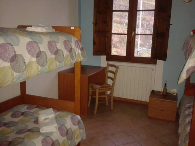 Stanza condivisa in Pania forata hostel