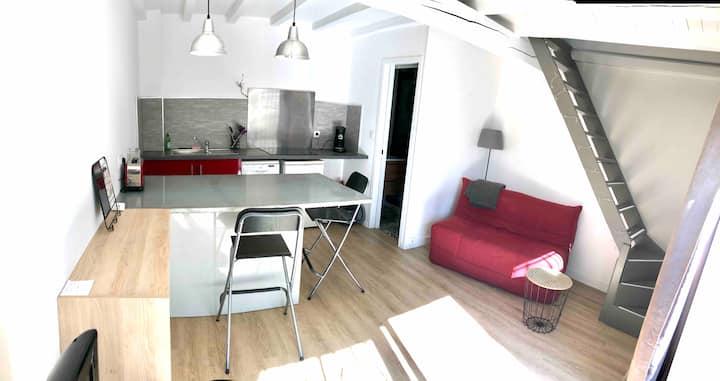 Duplex au calme avec terrasse, Nîmes
