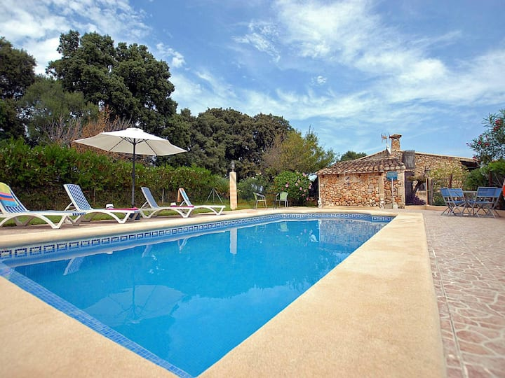 Figuera Blanca, Country house in Buger, Mallorca
