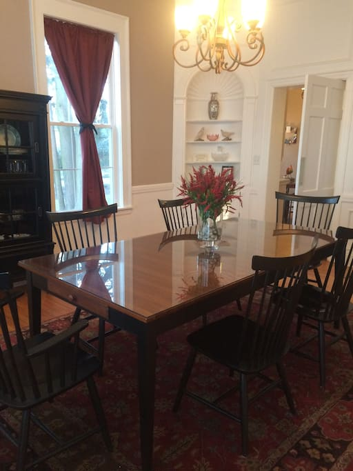 Dining Room for Breakfast Included with Your Stay
