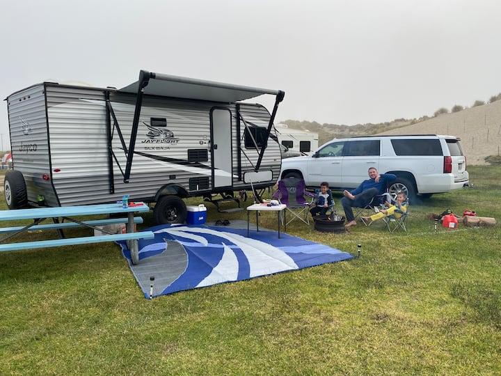 Hooper Bunker 2020: RENT TO TOW CAMPER TO CAMPSITE
