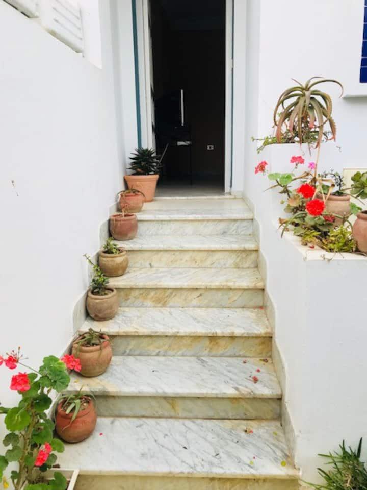 Hammamet, Appartement indépendant avec jardin