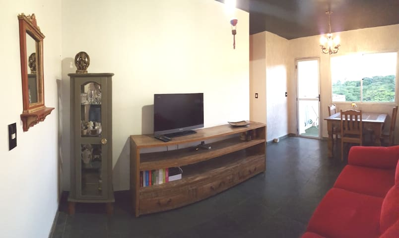 Stay in a Charming 2 bedrooms Flat in Campinas