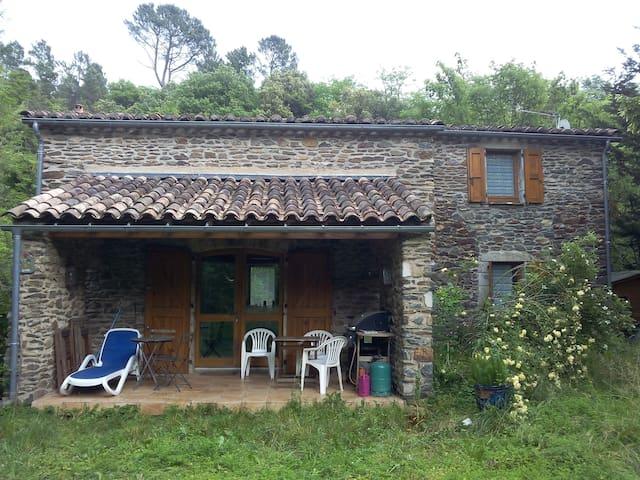 maison de charme dans  parc national des Cévennes - Chamborigaud - Rumah