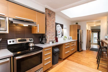 MONTREAL DREAMLOFT with PATIO & BBQ on the PLATEAU - Montreal - Apartmen