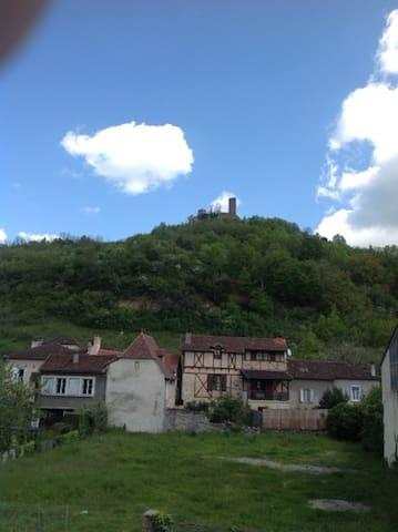 Saint-Céré - Chambre Bleue - Saint-Céré - Maison
