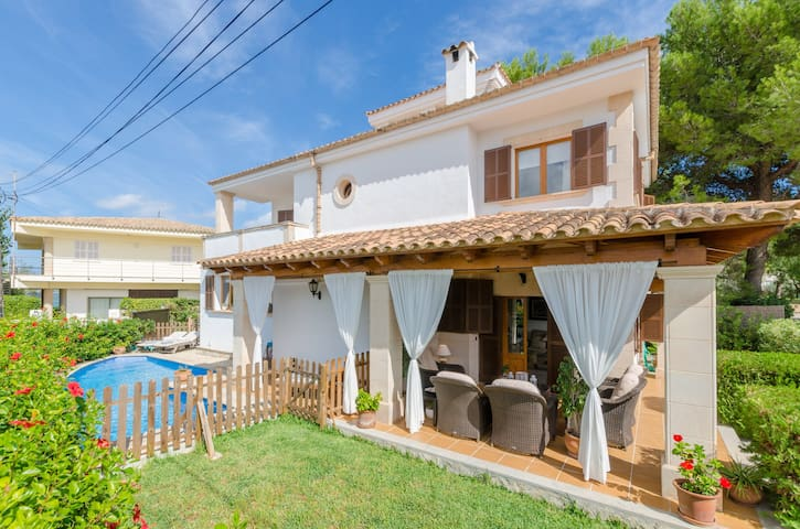BONACASA - Chalet with private pool and near the sea in Barcarés
