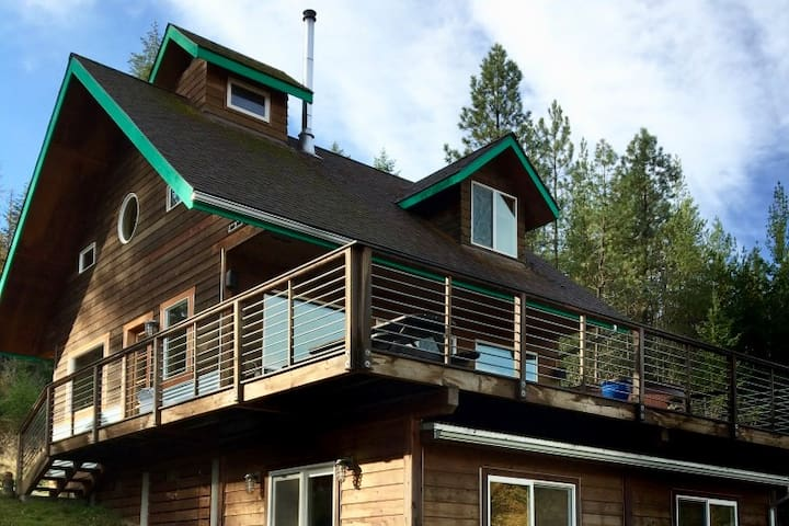 Rocketland- Northwest Contemporary Home - Sandpoint - Hus
