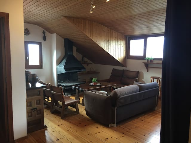 Top-floor Apartment / Attic & pool - Alp - Huoneisto