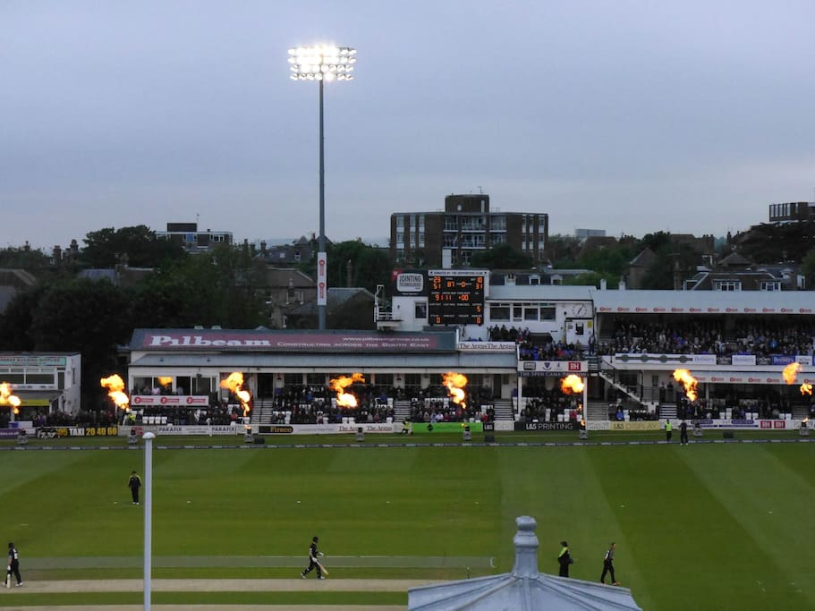 The Sussex County Cricket Ground View