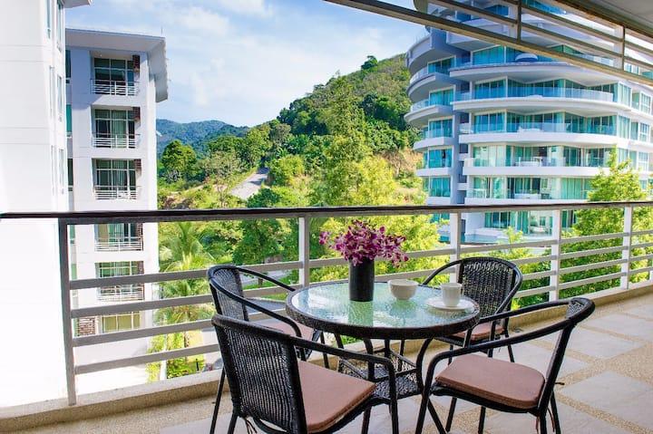 Karon Hill Apartments 105 sq/m Hill and Sea views