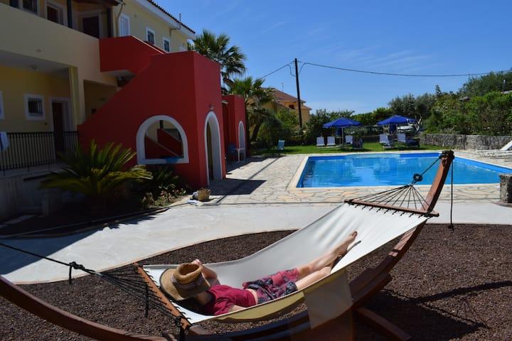 Panoramic sea view room & pool in EliteCorfu Hotel