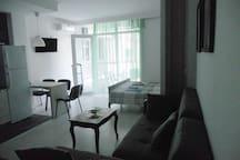 "Studio apartment in a seaside complex ""Magnolia"""