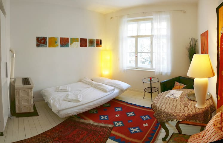 Quiet room with private entrance - Monachium - Apartament