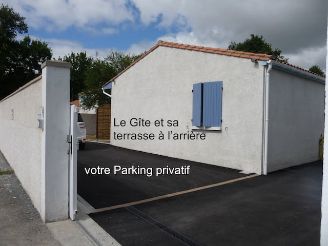 L'emplacement du parking qui vous est réservé (privé, sécurisé).