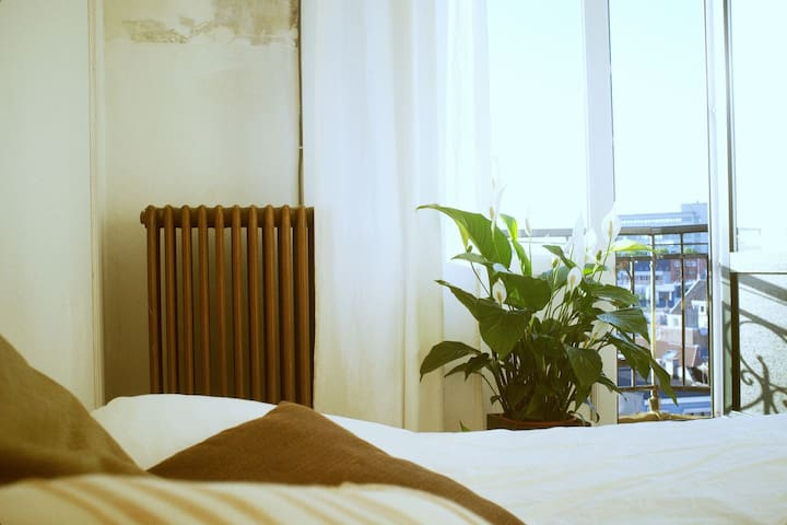 delightful balcony-room with a view - Antwerpen - Lägenhet
