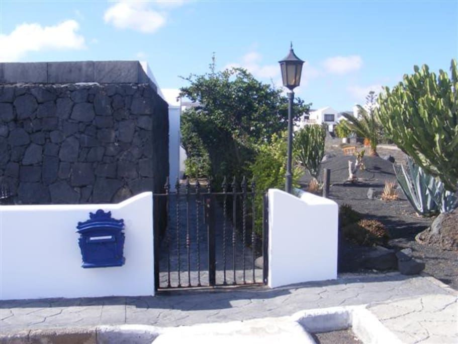 Eingangstörchen - Entrance gate - Cancela entrada