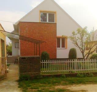 Ferienhaus 350 Meter zum Strand am Plattensee - Balatonszárszó - Apartamento