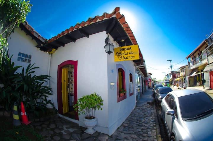 Quarto Casal Pousada Solar do Algarve Paraty