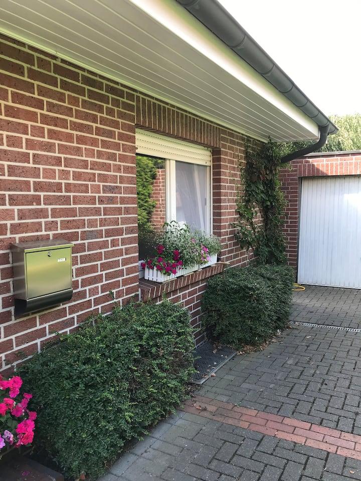 Ferienwohnung mit Garten und Terrasse in Laer