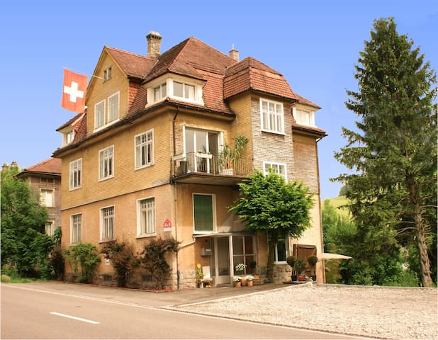 Bed & Breakfast Zimmer Orange - Degersheim - Bed & Breakfast