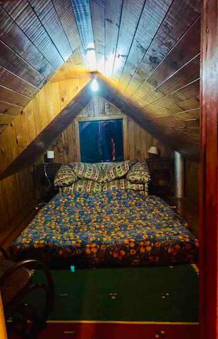 Cuarta pieza. Sofá-cama