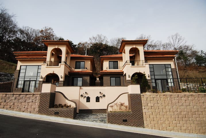 Beautiful house at Learning Resort - Bogae-myeon, Anseong-si - Reihenhaus