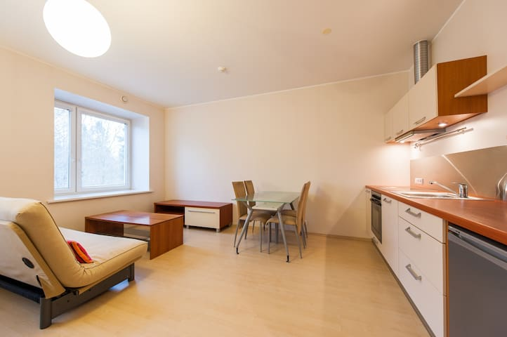 Apartment in the green park nearby the beach!!!
