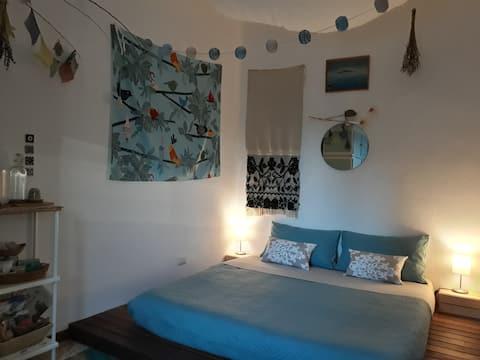 Casa Demetra > Bedroom in Organic Farm