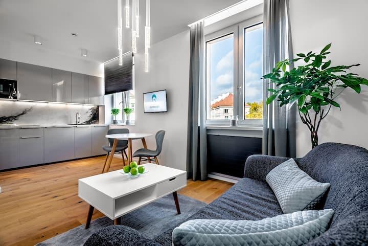 Koszykowa Suite - apartament w centrum Warszawy!