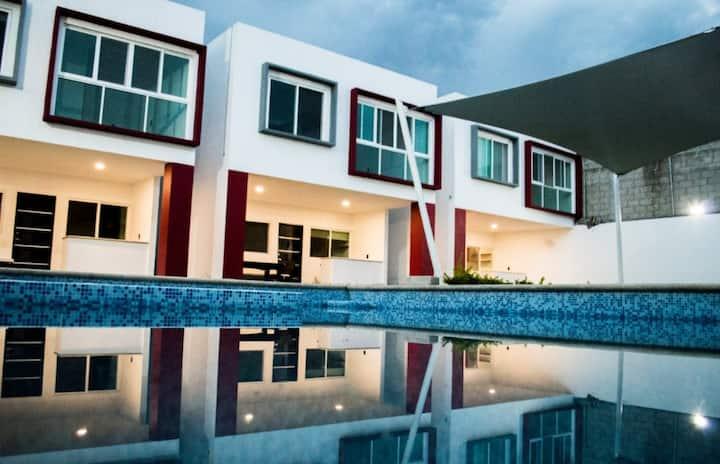 Hermosas casas privadas con alberca en Cuernavaca