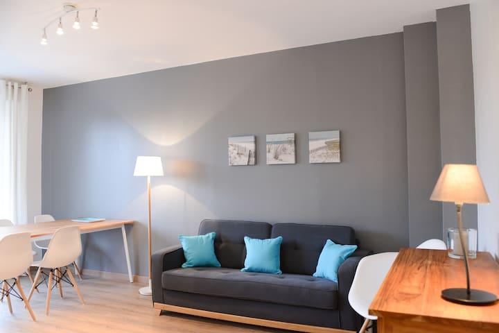 Appartement lumineux à deux pas du Croisé laroche