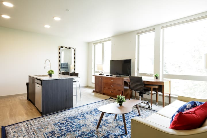 Two BR Apt good for 8 guests in Downtown Portland