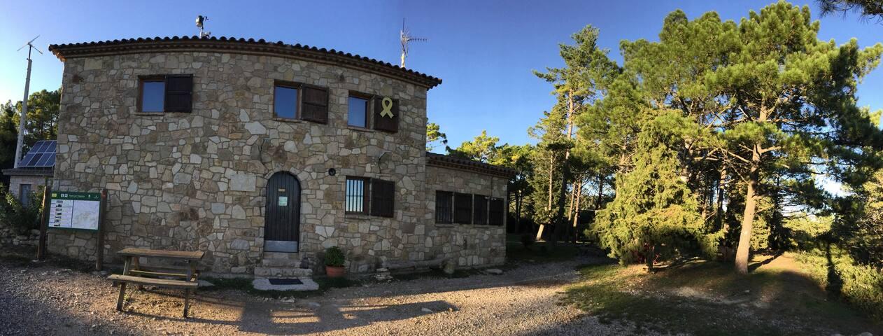 Refugio de montaña, HABITACION POR 30 PERSONAS