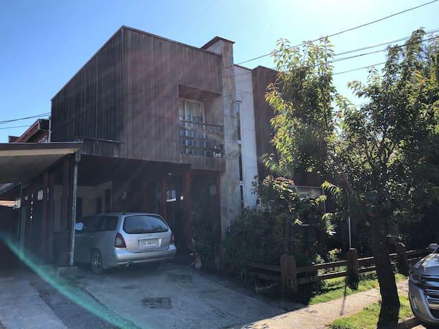 Cabaña en Isla Teja, Valdivia. (depto N3). Día-Mes