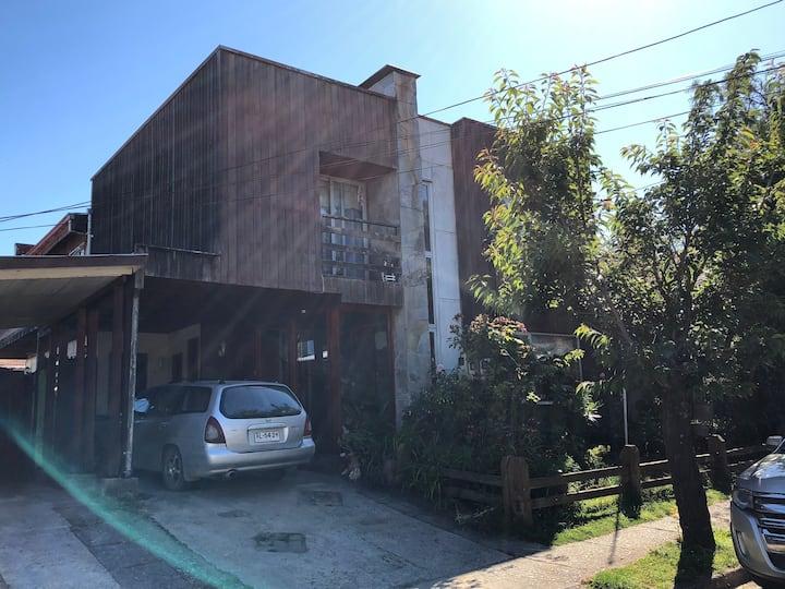 Cabaña en Isla Teja, Valdivia (Cabaña N°1).