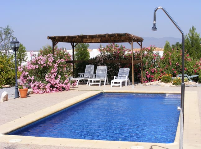 Beautiful Villa apartment with private pool & wifi - Albox - Pis