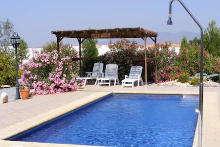 Beautiful Villa apartment with private pool & wifi - Albox - Apartment