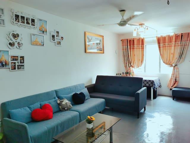 KZR Kuala Lumpur Homestay-2 bedroom flat
