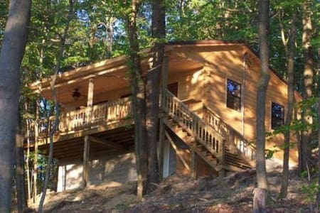 Fully Equipped Cabin at Jackson Lake - Oak Hill - Chatka