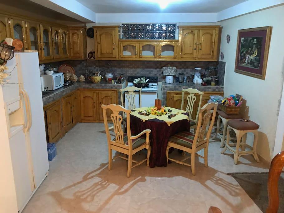 Stocked kitchen!