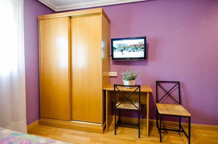 Hostal las Abadias - Habitacion doble standard (1 o 2 camas)